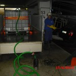 Duplex - Garagen auspumpen