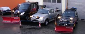 Winterdienstfahrzeuge