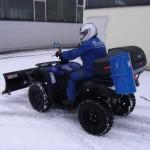 Winterdienst - Quad - für alle Gehwege